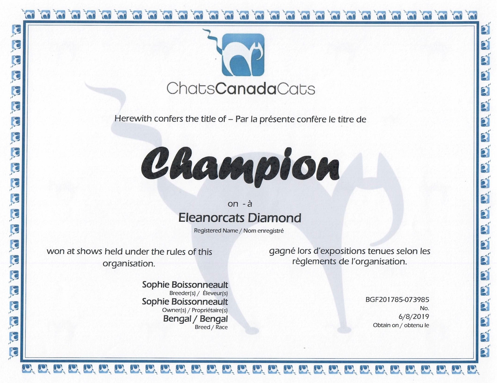 Champion - Diamond