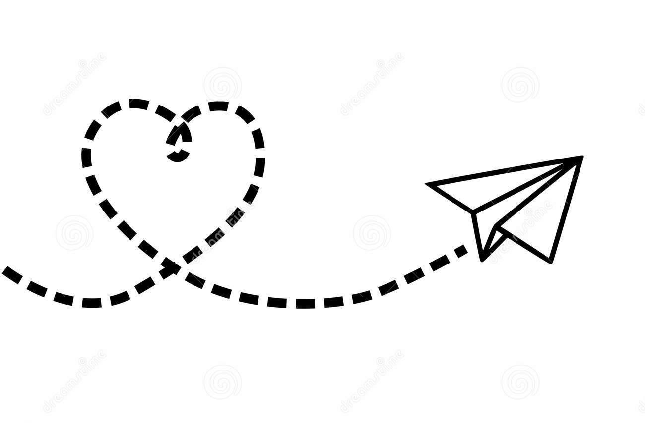 flying-plane-making-heart